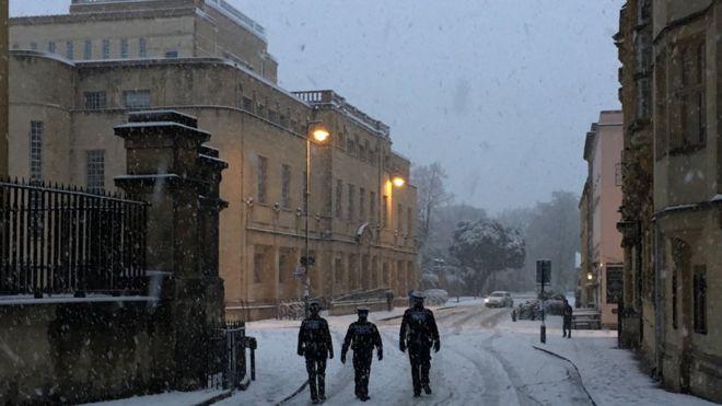 Oxford Policemen