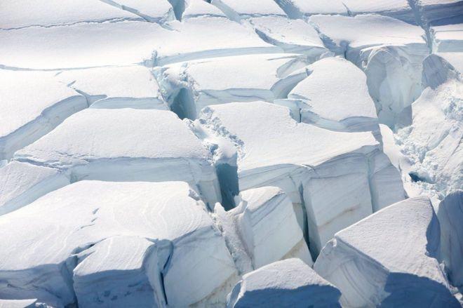 مرتفعات جليدية