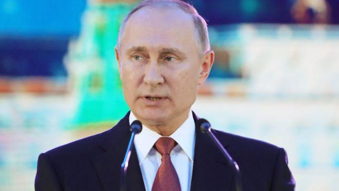 Путин назвал терактом взрыв в магазине «Перекресток» в Санкт-Петербурге