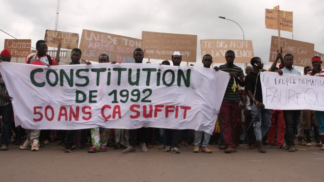 togo, manifestations, constitution