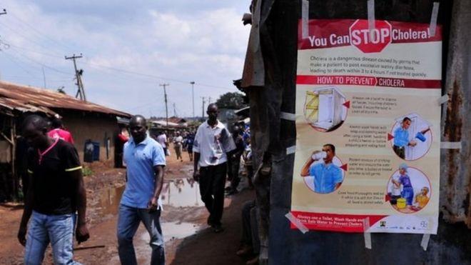 Kenya: Sağlık forumunda kolera salgını