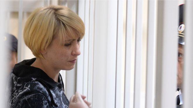 Ольга Алисова в суде