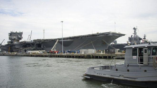Naval Station Norfolk, Virginia