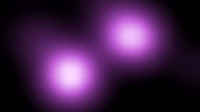 Supernova violeta.