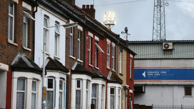 Houses in Luton