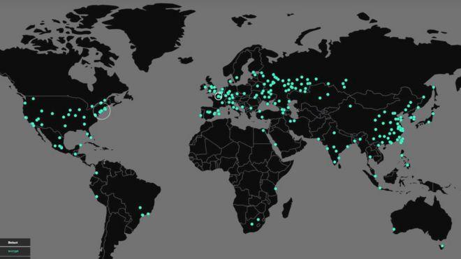 Zararlı yazılımın dünya çapında en çok yayıldığı şehirler