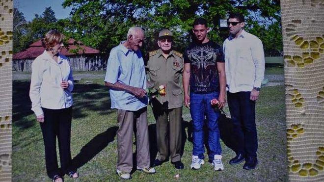 Foto de Martin Castro com Raul