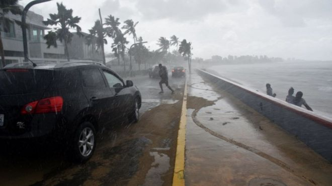Vientos huracanados