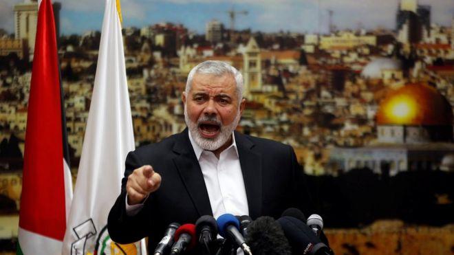 Ismail Haniye, líder de Hamas