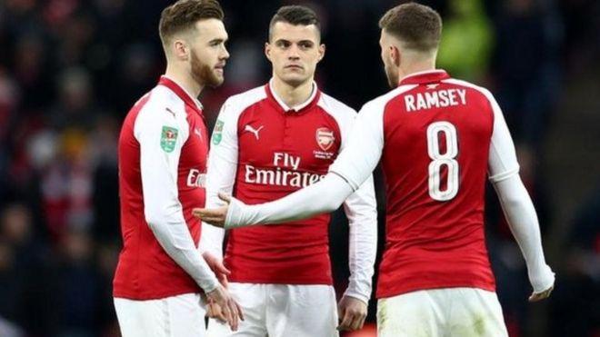 Arsenal ilipata kichapo kikubwa katika kombe la ligi katika fainali dhidi ya Manchester City