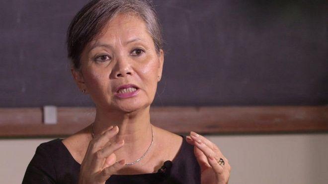 Bà Mu Sochua nói bà phải lưu vong vì lo sợ bị bắt giữ, bỏ tù như lãnh đạo Đảng CNRP Kem Sokha hồi tháng Bảy