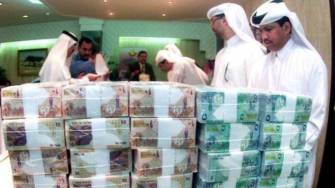 Qatar riyals
