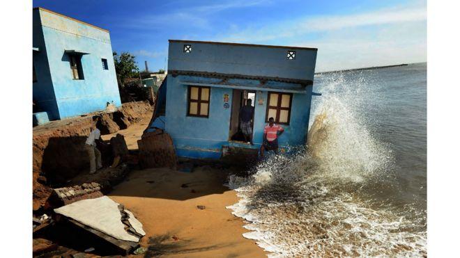 Casa en una playa de Chennai