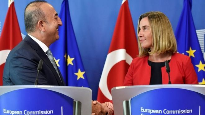 Guardian: AB yetkilisi Mogherini, Türkiye'ye daha sert tavır alınması çağrılarına karşı çıktı