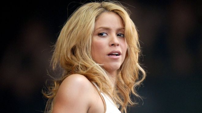 Shakira en un concierto en 2010.