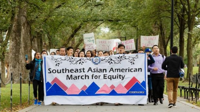 Cộng đồng hoạt động dân quyền ở Hoa Kỳ diễu hành kêu gọi ngừng trục xuất dân nhập cư châu Á