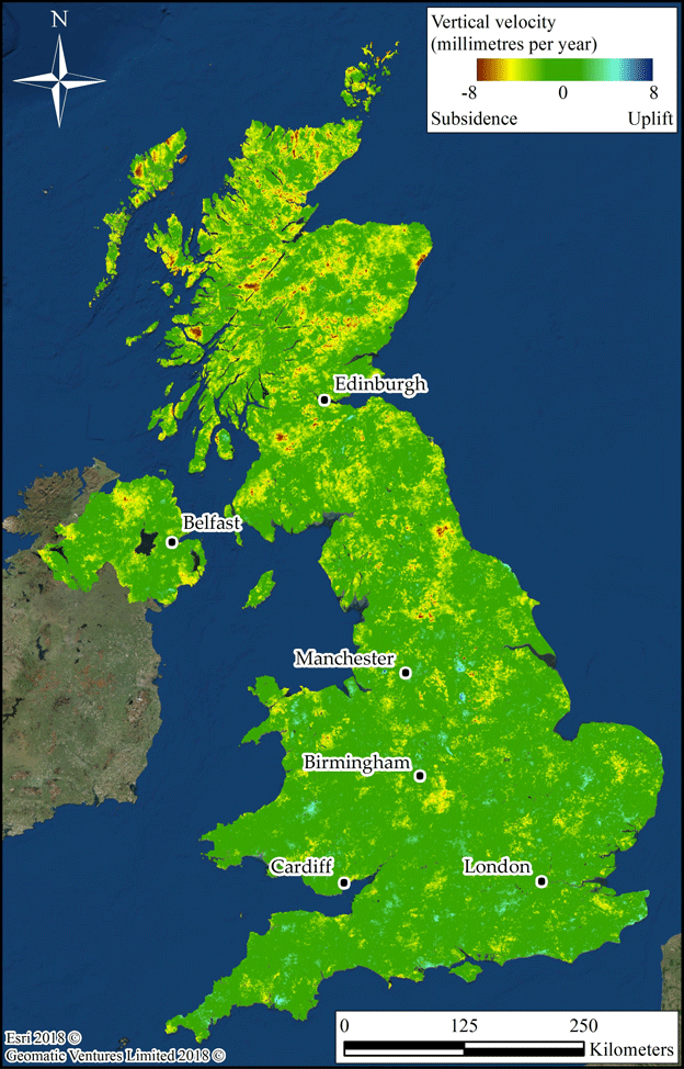 image caption the map was produced from over 8 terabytes of radar data