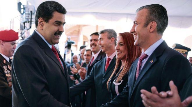 Resultado de imagen para imagenes de Nicolás Maduro y Tareck El Aissami