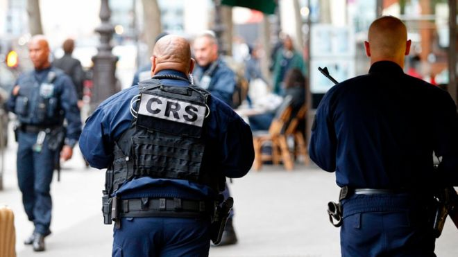 There is high tension, security wise, as French citizens go to poll