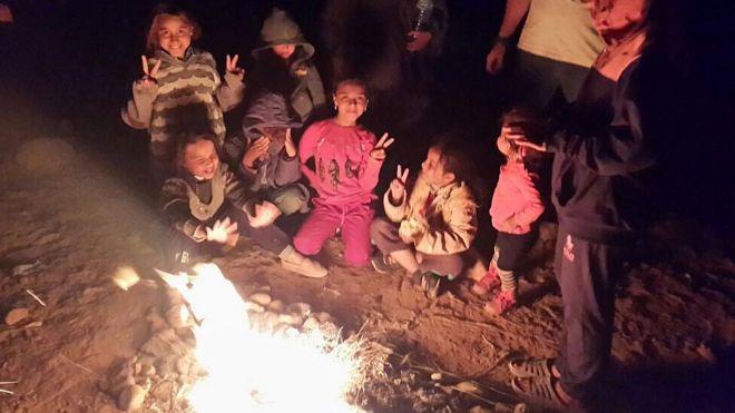 عدد من السوريين العالقين بين المغرب والجزائر