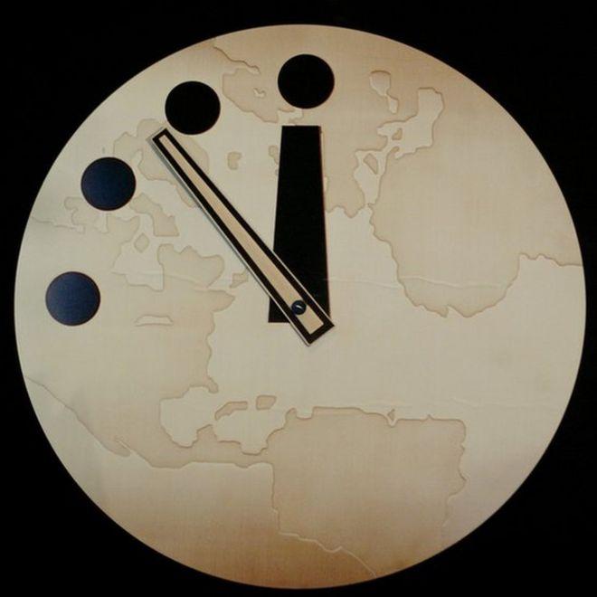 """El """"Reloj del Juicio Final"""""""