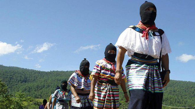 Mujeres zapatistas (archivo)