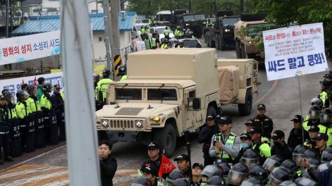 США разворачивают в Южной Корее системы ПВО