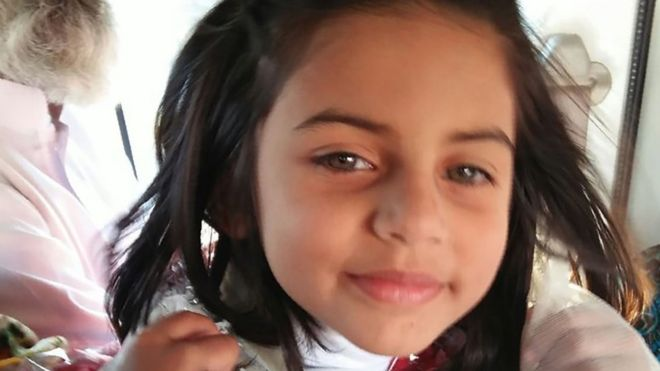 Zainab Ansari, who was murdered in Pakistan, aged six