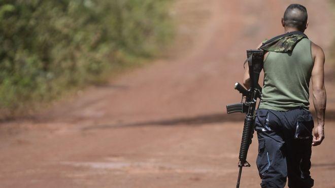Colombia: las FARC anuncian que dejan 30% de sus armas en manos de la ONU