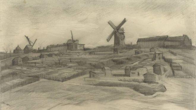 Van Gogh'un yeni bir resmi bulundu (17 Ocak2018)