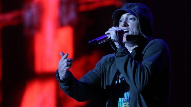 Eminem Performs In