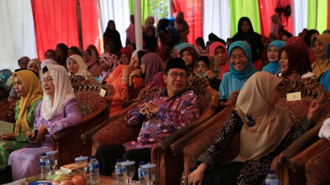 Image result for Female Islamic clerics in Indonesia issue rare child marriage fatwa