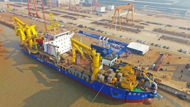 Barco da China