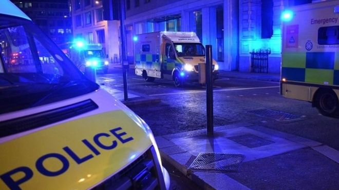 Полиция Лондона назвала происшествия в городе терактами