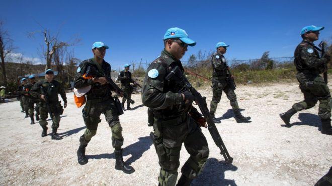 Image result for Missão de paz com militares brasileiros no Haiti é encerrada