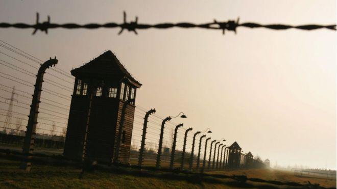 Бывший концлагерь Освенцим