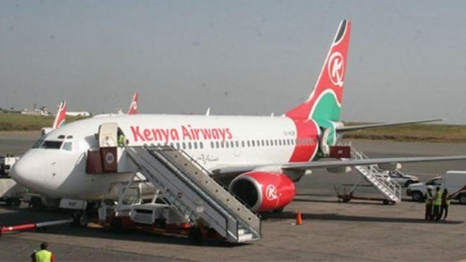 Ndege ya Kenya Airways