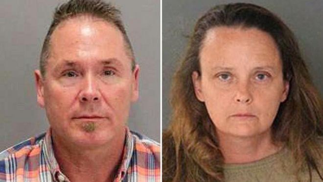 Michael Kellar y Gail Burnworth