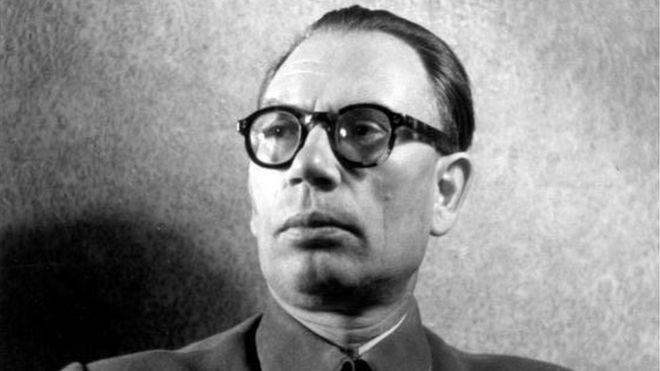 Генерал Пндрей Власов в немецком плену (фото из Бундесархива ФРГ)
