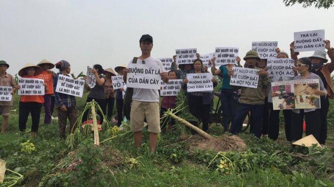 Việt Nam, đất đai, dân oan