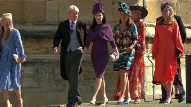 Earl Spencer and his wife Karen
