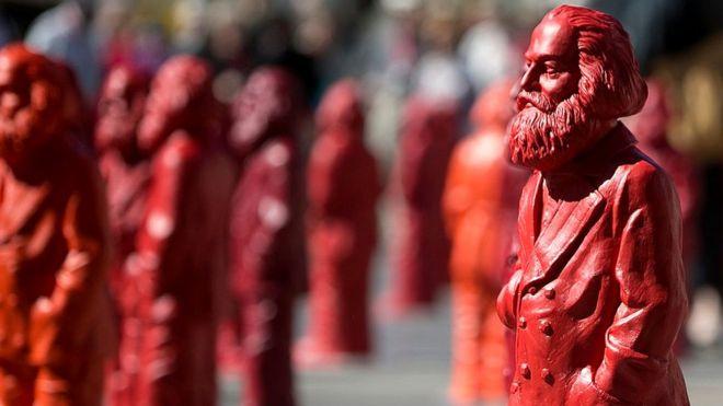 Estatuas de Carlos Marx en Tréveris, Alemania