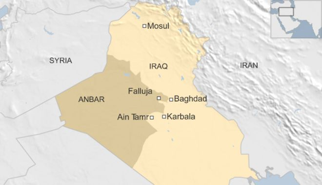 Six IS Suicide Bombers In Deadly Attack South Of Baghdad BBC News - Baghdad map world