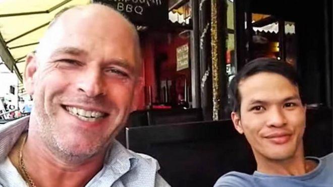 Stefan Struik và Nguyễn Thanh Dũng (bên phải)