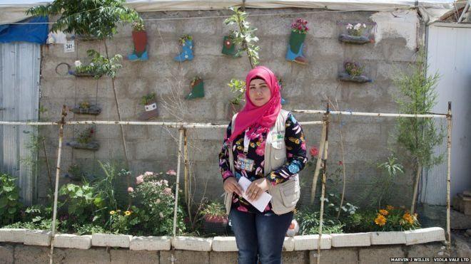 Kuzey Irak'taki mülteci kampında yeşeren umut bahçesi