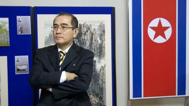 Former North Korean diplomat Thae Yong-ho pictured in 2014