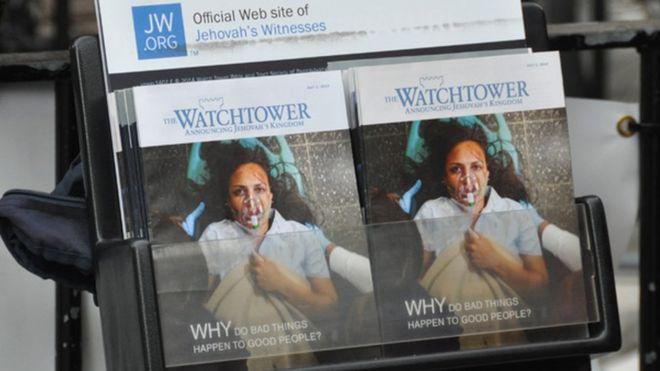 Jehovah's Witness pamphlets