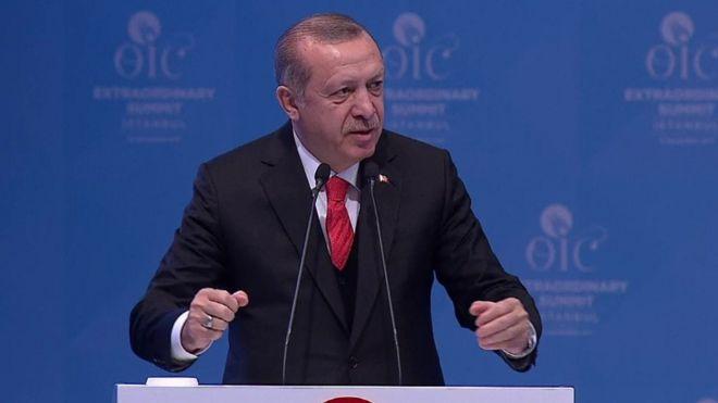 """DAAWO """"Qudus Waa In Ay Noqoto Caasimadda Falastiin"""" Madaxwene Erdogan Oo Si Kulul U Hadlay"""