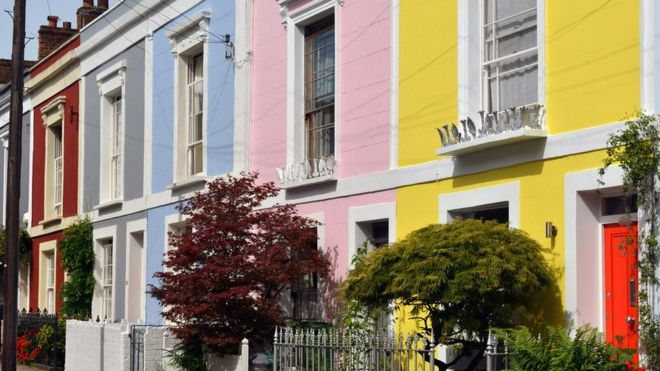 London town houses