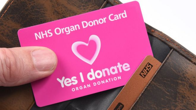 Organ Donations Rising Across the UK. Image NHS BLOOD AND TRANSPLANT